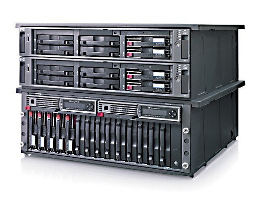 Кластер HP ProLiant DL380 G4   Packaged Cluster with MSA1000, includes: Xeon-3.6Ghz/800Mhz/2Mb cache, 1GB (2*512MB) PC2-3200 SDRAM, NC7782 Dual Port PCI-X Gigabit Server Adapter, SmartArray 6i controller, 2*FCA2214 Host Adapter (Linux and 32-bit Windows), MSA1000