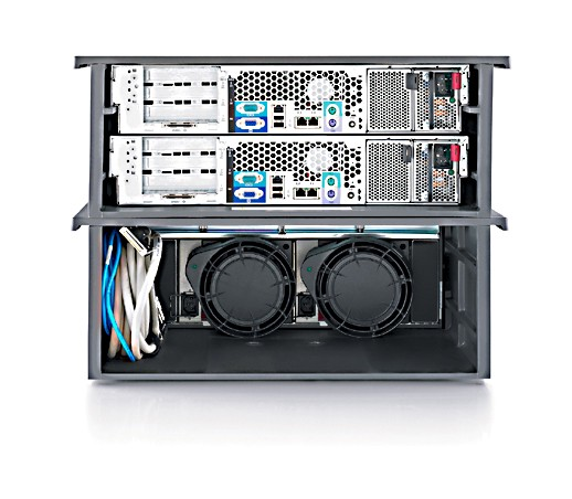 Кластер HP ProLiant DL380 G4   8U Packaged Cluster with MSA500G2 (2x311143-421 DL380 G4, 1x335880-B21 MSA500 G2)
