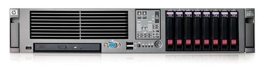 Сервер HP ProLiant DL385R02 2218 (Rack2U OptDC 2.6Ghz(2Mb/ )2x1Gb/ P400(256Mb/ RAID5/ 1/ 0)/ noHDD(8)SFF/ noCD.noFDD/ iLO2std/ 1xGigEth MF/ 1RPS)