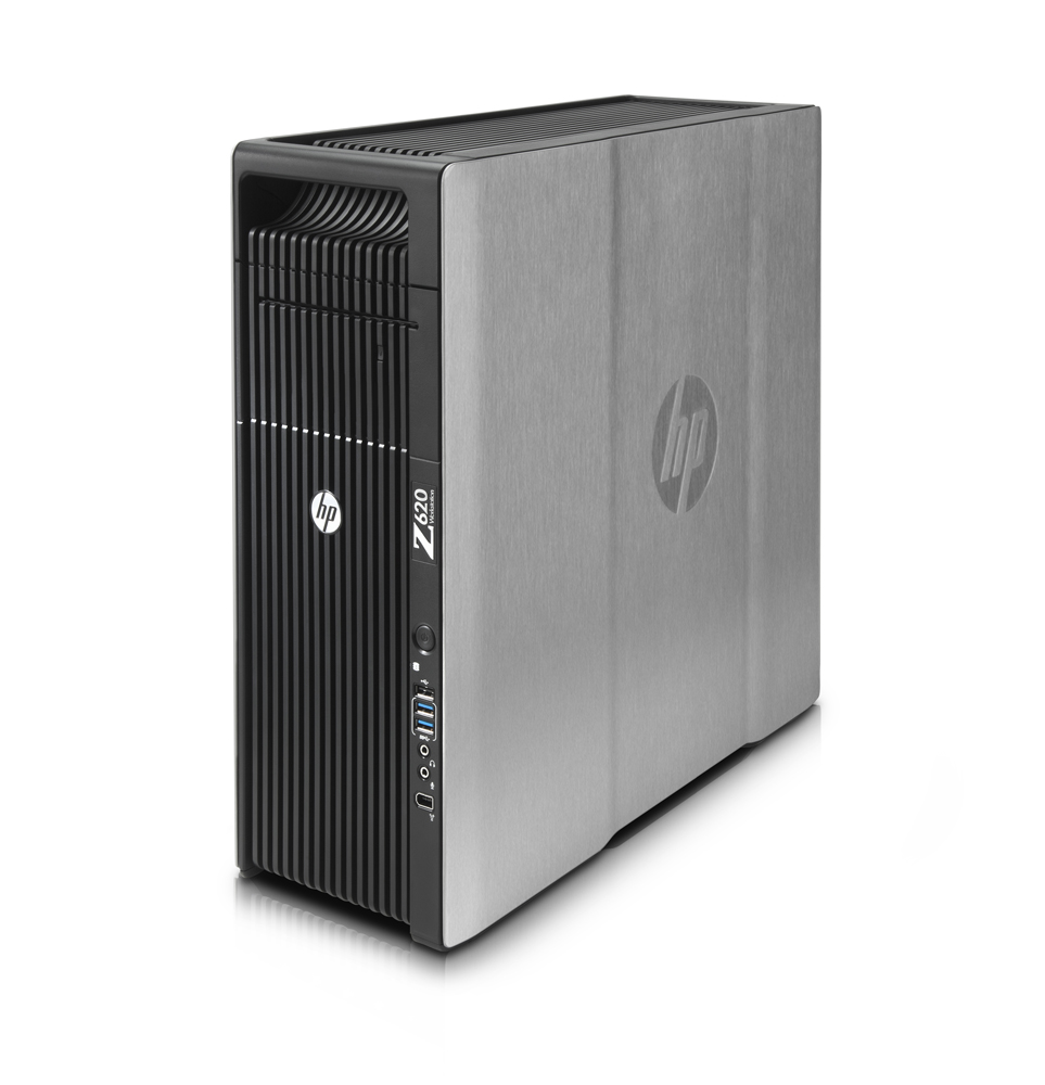 Графическая станция HP Z620 Workstation   Xeon E5-2620x2, 16GB(4x4GB)DDR3-1333 ECC, 1TB SATA 7200 HDD, DVD+RW, no graphics, laser mouse, keyboard, CardReader, Win7Prof 64