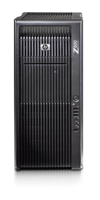 Графическая станция HP Z800 Workstation   Xeon SQ X5660x2, 24GB(6x4GB)DDR3-1333 ECC, 300GB SAS 15K 1st HDD, 600GB SAS 15K 2nd HDD, DVD+RW, no graphics, laser mouse, keyboard, CardReader, Win7Prof 64