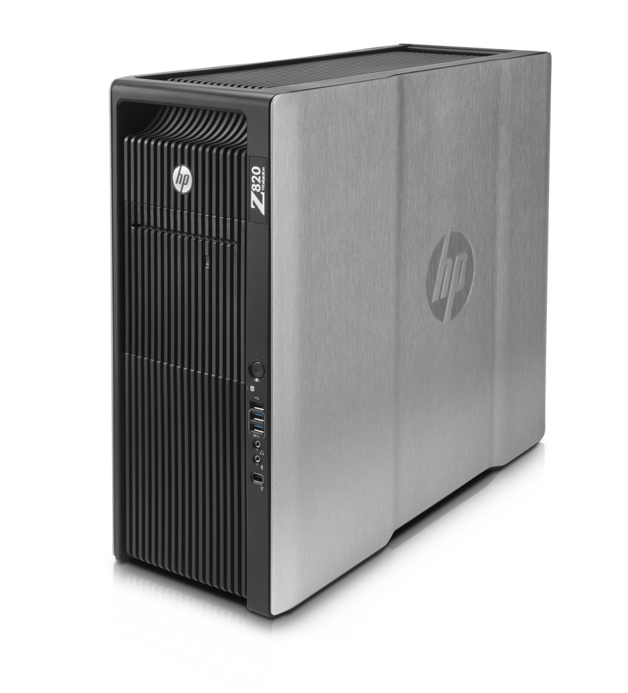 Графическая станция HP Z820 Workstation   Intel Xeon Processor E5-2620 6C 2.00GHz, RAM  16GB (4x4GB) DDR3-1333 ECC, HDD 1TB SATA 7200rpm, DVD+RW, no graphics, laser mouse, keyboard, CardReader, Win7 Prof 64