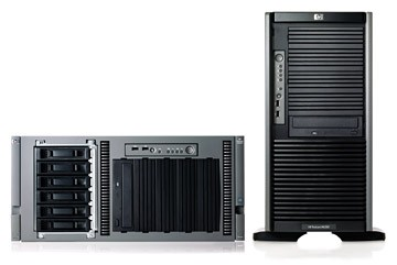 Сервер HP ProLiant ML350 G5 Server Tower Xeon 5060 DualCore 3.2GHz/2x2Mb, 2x512Mb, SATA/SAS SFF HotPlug Drive Cage (max 8 SFF HDD), RAID E200i with BBWC 128Mb (0/1+0/5), CD, noFDD, iLO2, Gigabit Ethernet