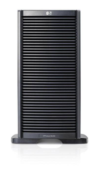 Сервер HP ProLiant ML350 G6 Server   E5606 Tower(5U), XeonQC 2.13GHz(8Mb), 1x4GbR1D, P410i(ZM, RAID(1+0, 1, 0), HDD 1x300GB SAS LFF(6, 8up), DVDRW, iLO2std, 2xGigEth, 1xRPS460HE