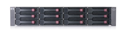 Дисковое шасси HP StorageWorks MSA20 Rack 2U (max 12xSATA, 2x HotPlug fans/power supply, 1xVHDCI cable)