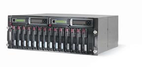 Дисковое шасси HP StorageWorks MSA500 Rack 4U (max 14x300Gb Ultra320-SCSI)
