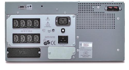 Источник бесперебойного питания APC Smart-UPS RM 5U 3000VA   (2250Watt, RS232, 1xRBC11, 1xSS, 8xC13, White)