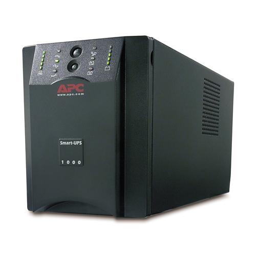 Источник бесперебойного питания APC Smart-UPS 1000VA (670Watt, USB, RS232, 1xRBC6, 1xSS, 8xC13, Black)