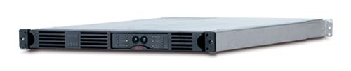 Источник бесперебойного питания APC Smart-UPS RM 1U 1000VA   (640Watt, USB, RS232, 1xRBC34, 1xSS, 4xC13, Black)