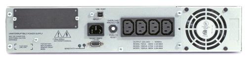 Источник бесперебойного питания APC Smart-UPS RM 2U 1000VA   (670Watt, USB, RS232, 1xRBC23, 1xSS, 4xC13, Black)