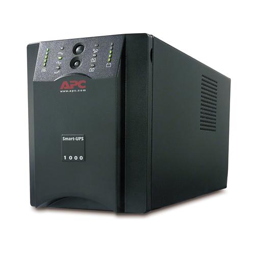 Источник бесперебойного питания APC Smart-UPS XL 1000VA (800Watt, USB, RS232, 1xRBC7, 1xSS, 8xC13, Black)