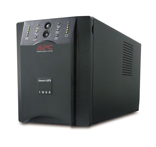 Источник бесперебойного питания APC Smart-UPS 1500VA (980Watt, USB, RS232, 1xRBC7, 1xSS, 8xC13, Black)