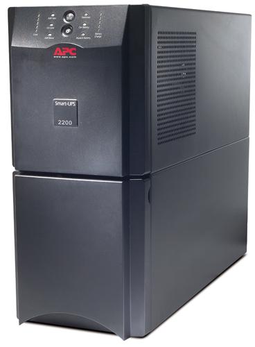 Источник бесперебойного питания APC Smart-UPS 2200VA (1980Watt, USB, RS232, 1xRBC55, 1xSS, 8xC13, Black)