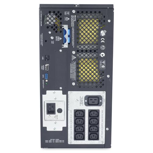 Источник бесперебойного питания APC Smart-UPS XL 2200VA/1600W   230V, Extended Runtime, Line-Interactive, user repl. batt., SmartSlot, USB, RS-232, PowerChute Tower/Rackmount (5U)