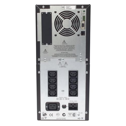 Источник бесперебойного питания APC Smart-UPS 3000VA   (2700Watt, USB, RS232, 1xRBC55, 1xSS, 8xC13, Black)