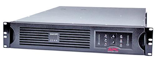 Источник бесперебойного питания APC Smart-UPS RM 2U 3000VA   (2700Watt, USB, RS232, 1xRBC43, 1xSS, 8xC13, Black)