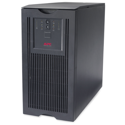 Источник бесперебойного питания APC Smart-UPS XL 3000VA/2700W   230V, Extended Runtime, Line-Interactive, user repl. batt., SmartSlot, USB, RS-232, PowerChute Tower/Rackmount (5U)
