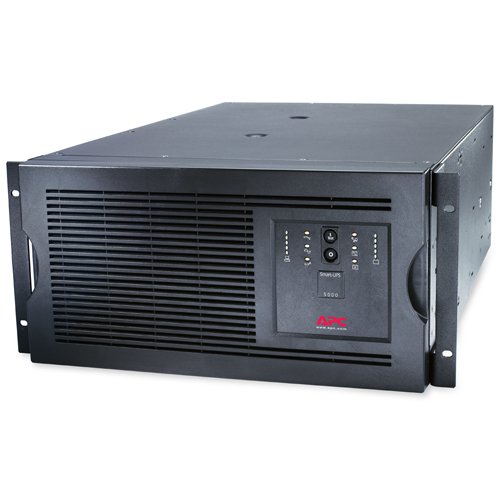 Источник бесперебойного питания APC Smart-UPS RM 5U 5000VA   4000W 230V, Rackmount/Tower, Line-interactive, Hot Sw. User Repl. Batt., SmartSlot, PowerChute