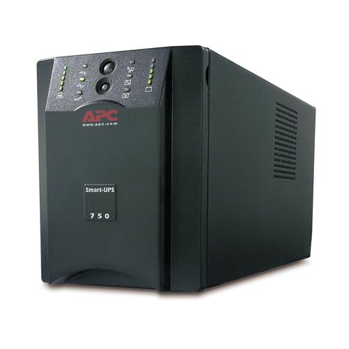 Источник бесперебойного питания APC Smart-UPS XL 750VA (600Watt, USB, RS232, 1xRBC7, 1xSS, 8xC13, Black)