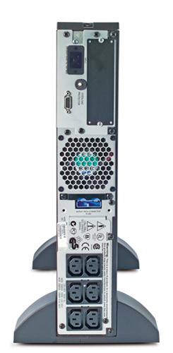 Источник бесперебойного питания APC Smart-UPS RT 2U 1000VA   (700Watt, RS232, 1xRBC31, 1xSS, 6xC13, Black)