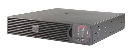 Источник бесперебойного питания APC Smart-UPS RT RM 2U 2000VA (1400Watt, RS232, 1xRBC31, 1xSS, 6xC13, Black)