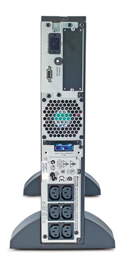 Источник бесперебойного питания APC Smart-UPS RT 2U 2000VA   (1400Watt, RS232, 1xRBC31, 1xSS, 6xC13, Black)