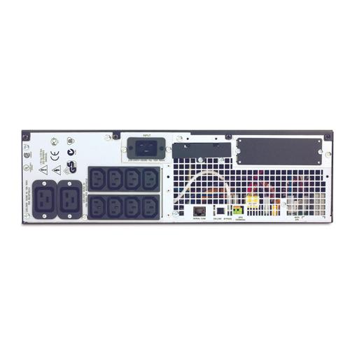 Источник бесперебойного питания APC Smart-UPS RT RM 3U 3000VA   (2100Watt, RS232, 1xRBC44, 1xSS, 8xC13, Black)