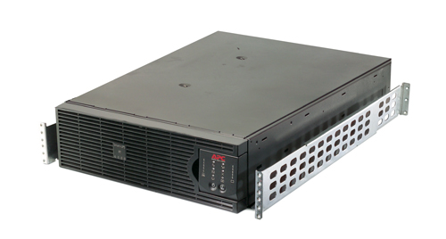 Источник бесперебойного питания APC Smart-UPS RT RM 3U 6000VA   4200W, On-Line, Extended-run, Rack 3U (Tower convertible), Pre-Installed AP9619, with PC Business, Black