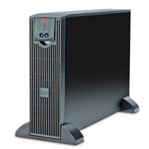 Источник бесперебойного питания APC Smart-UPS RT, 6000VA/4200W, On-Line, Extended-run, Black, Tower (Rack 3U convertible), Pre-Installed AP9619, with PC Business