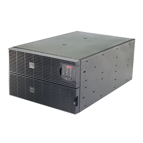 Источник бесперебойного питания APC Smart-UPS RT RM 6U 8000VA/6400W, On-Line, Extended-run, 1:1 or 3:1, Rack 6U (Tower convertible), Pre-Installed AP9619, with PC Business, Black