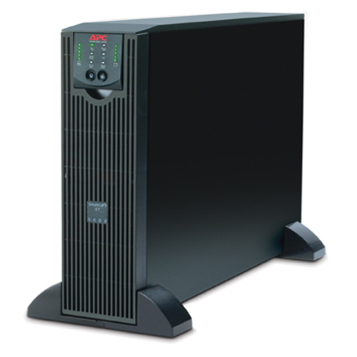 Источник бесперебойного питания APC Smart-UPS RT, 5000VA/3500W,   On-Line, Extended-run, Black, Tower (Rack 3U convertible), Pre-Installed AP9619, with PC Business(SURTD5000XLI)