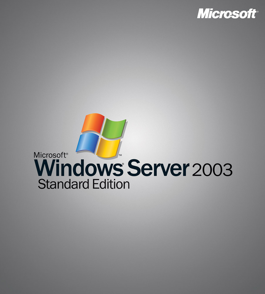 Microsoft Windows Server Standard 2003R2 with SP2 32bit/x64 Russian Disk Kit MVL CD