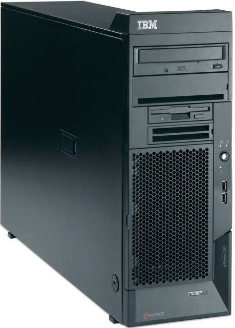 Сервер IBM xSeries 226 (x226) XeonDP-3.0/2Mb/800MHz,   1x512Mb PC2-3200/400MHz, Ultra320-SCSI (max 6x146.8Gb), HP, 6/6 PCI, CD, FDD, Gigabit NIC, 1x530Watt